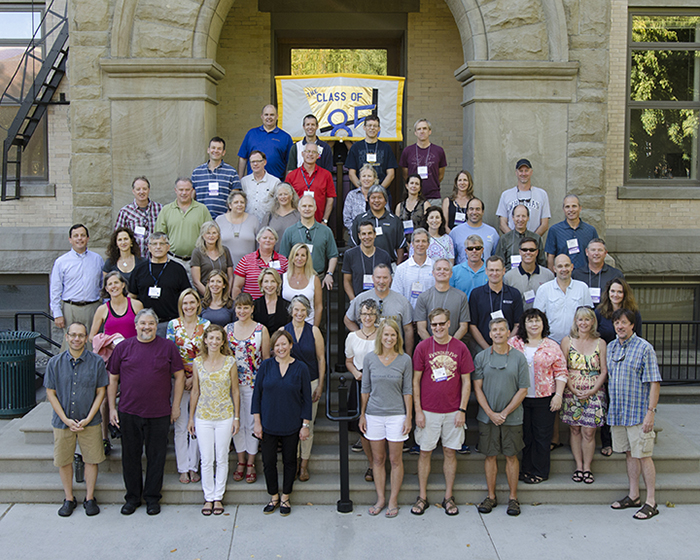 Whitman College Class of 1985 Cluster Reunion (30th), Fall 2014
