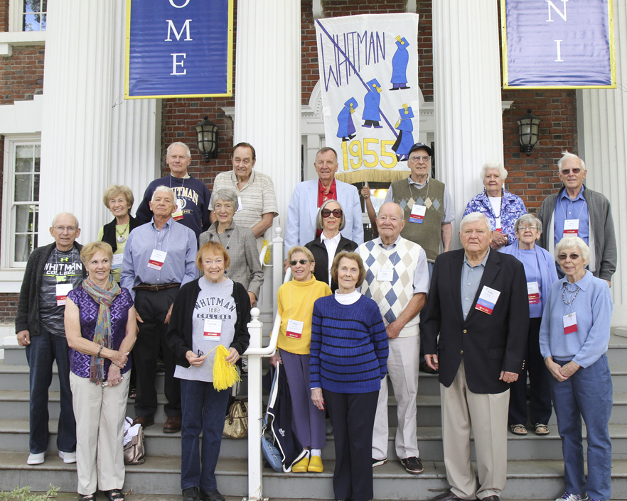 Whitman College Class of 1955 60th Reunion, Fall 2015