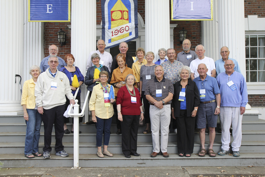 Whitman College Class of 1960 55th Reunion, Fall 2015
