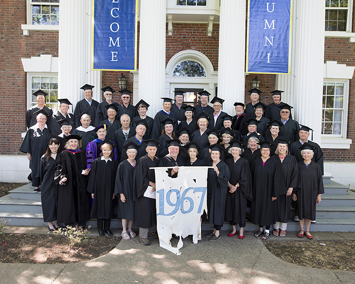 Class of 1967 50th Reunion, Commencement, May 18-21, 2017