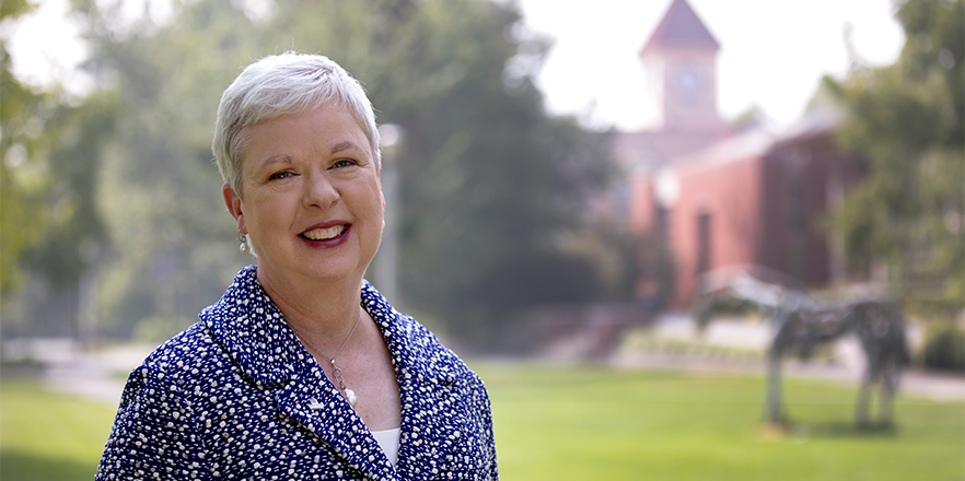 Dr. Kathleen Murray, 14th President of Whitman College