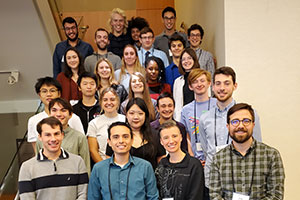 A group photo of students and faculty who participated in the 2019 Murdock conference.