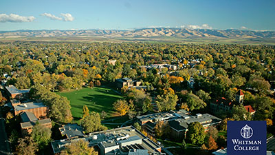 Whitman Campus Aerial