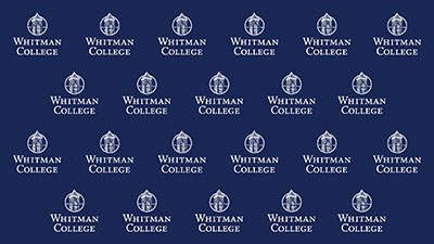 Whitman Campus Logo Repeat