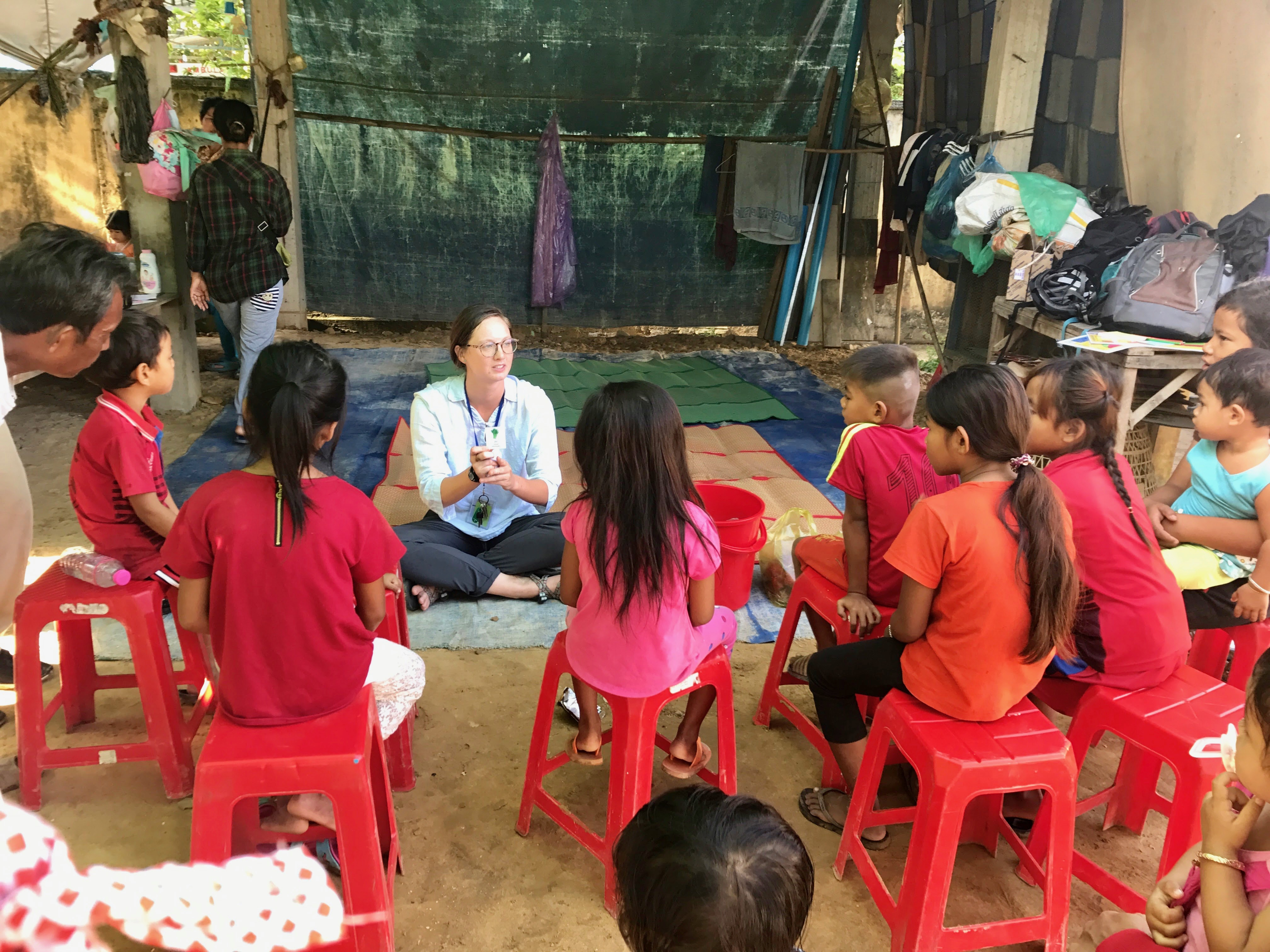 Haley Case '17 serving for Peace Corps in Cambodia