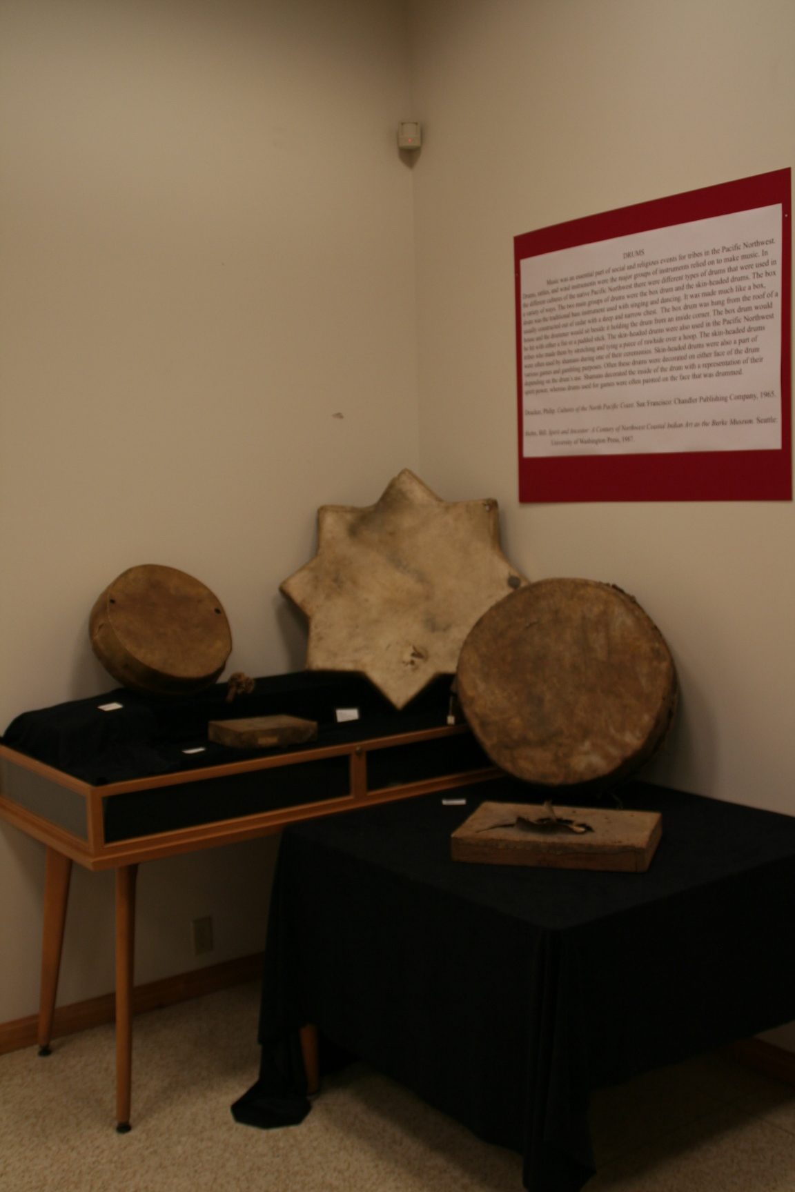 Image of Native american drums