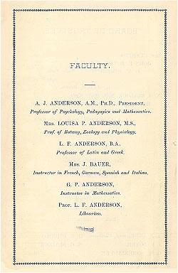 Faculty 1882
