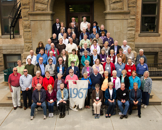 Class of 1967 Cluster Reunion, Spring 2012