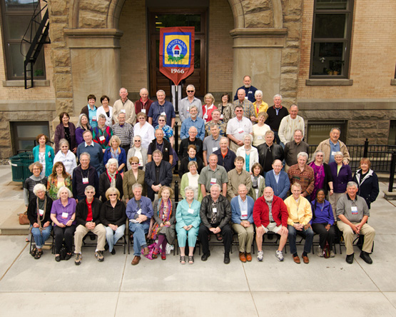 Class of 1966 Cluster Reunion, Spring 2012