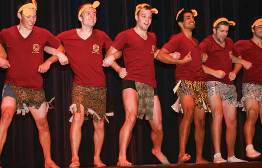 Mr. Whitman contestants
