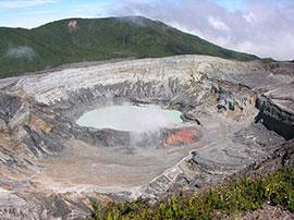 poas - crater