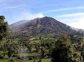 turrialba - mountain