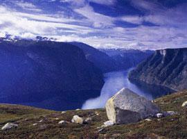 Aurlands fjord