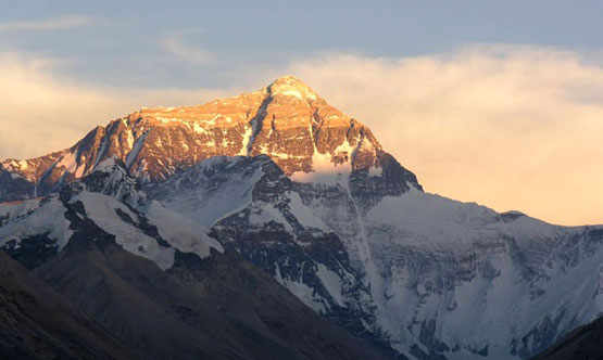 sunset mt everest