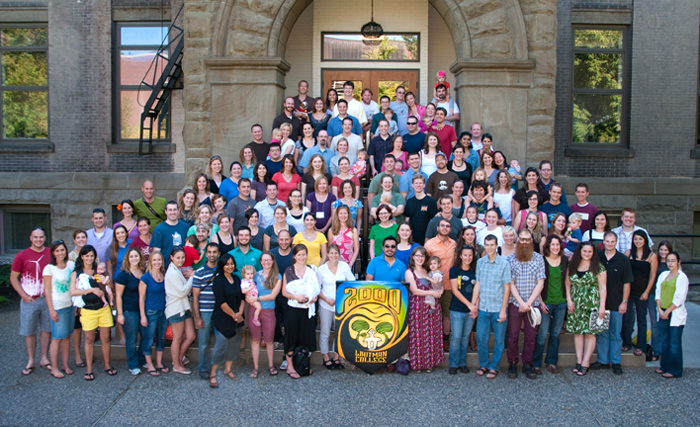 Whitman College Class of 2000 - Fall 2010