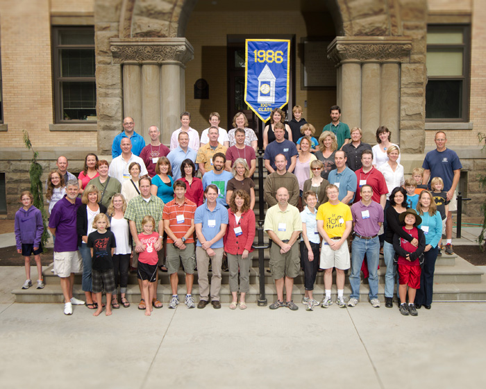 Whitman College Class of 1986 - Fall 2011