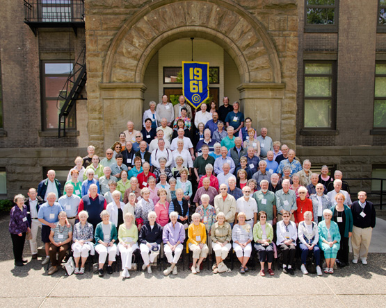 Class of 1961 50th Reunion photo, May 2011