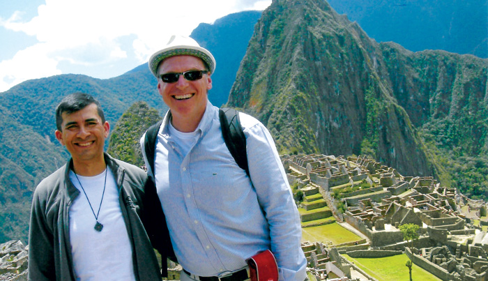 Jensen at Machu Picchu