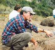 Pat Spencer, Professor of Geology