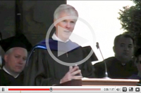 Commencement speaker video