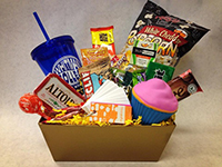 Whitman College Finals Gift Basket