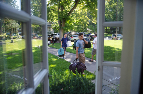 Move in day: Whitman welcomes the Class of 2018