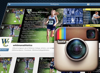 Follow Whitman Athletics on Instagram