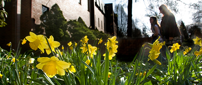 Early Springtime on Whitman College Campus