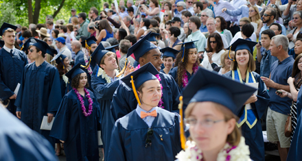 Whitman College Commencement 2014