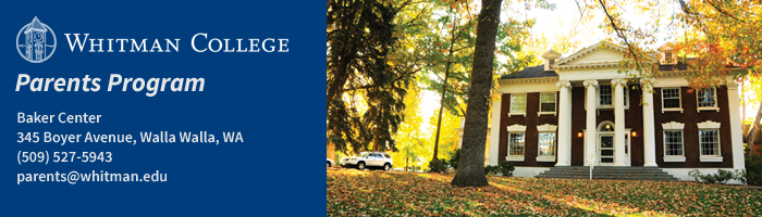 Link to Whitman College home page.