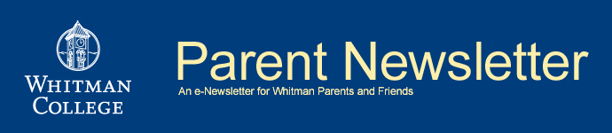 Whitman College Parent Newsletter