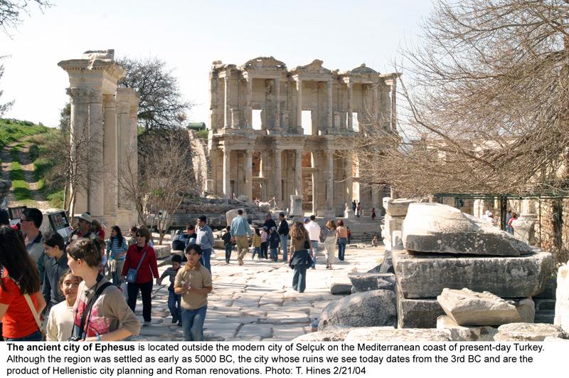 Ephesus Ephesos Theatre History