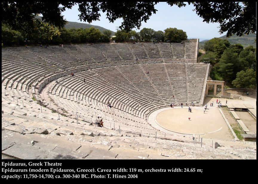 The Theatre In Epidaurus  Male Models Picture