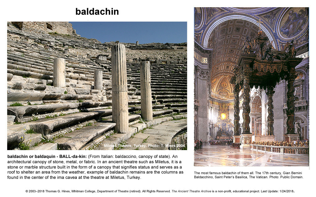 Greek Roman Theatre Glossary Ancient Theatre Archive