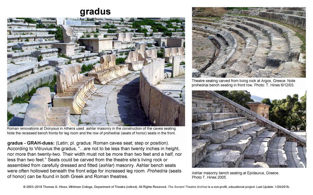 Pleasing Greek Roman Theatre Glossary Ancient Theatre Archive Project Gmtry Best Dining Table And Chair Ideas Images Gmtryco
