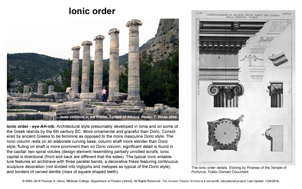 greek roman theatre glossary ancient theatre archive project